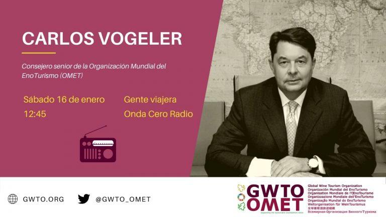 Entrevista Carlos Vogeler en Onda Cero